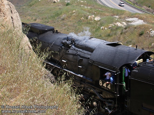 UP844 Steam Engine